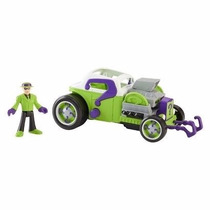 Dc Imaginext Super Friends Riddler Charada E Hot Rod