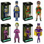 Vinyl Idolz Batman Tv Series: Batman Robin Coringa & Batgirl