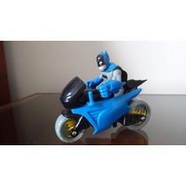 Batman Imaginext Dc Super Friends Com Moto