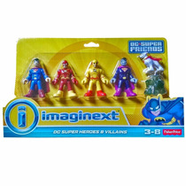 Dc Imaginext - Bizarro Flash Reverse Superman Krypto Flash