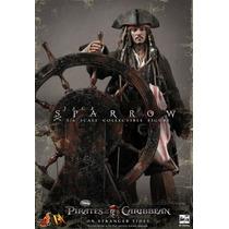 Hot Toys Dx 06 Jack Sparrow Johnny Depp Pirates Caribbean