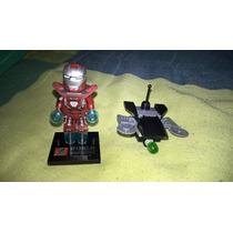 Lego Marvel Homem De Ferro Bonequinho Com Acessorio