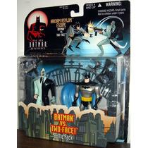 Two Face Vs Batman 12 Cms(jlu)liga Da Justiça-justice Leagu