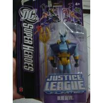 Liga Da Justiça Sem Limites - Blue Devil Com 10cm - Mattel