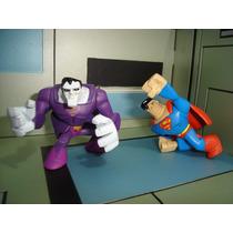Dc Universe Action League Bizarro Vs Superman Jlu