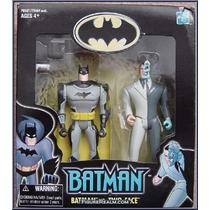 Batman Vs Two Face 12 Cms(jlu)liga Da Justiça-justice League