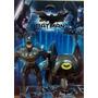 Boneco Batman 27cm Com Acessorios Mascara Liga Da Justiça