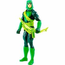 Boneco Arqueiro Verde Liga Da Justiça Dc Mattel Articulado