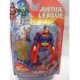 Boneco Super Man Articulado Liga Da Justiça