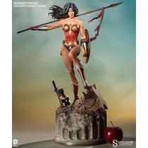 Wonder Woman Premium Format Sideshow Mulher Maravilha Dc