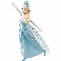 Boneca Disney Frozen Princesa Elsa Musical Mattel Promoção!