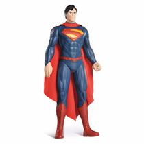 Boneco Superman 55 Cm Brinquedo Gigante Bandeirante Articul.
