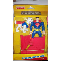 Superman E Krypto Imaginext