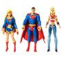 Superman - Wonder Girl - Supergirl - Dc Universe - Mattel