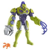 Max Steel - Invasão Aquática - Toxzon Bio-bomba - Mattel