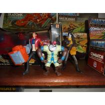 Lote Com 3 Bonecos Personagens Da Coleção Mutant Rex