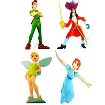 Kit 4 Bonecos Peter Pan Disney - Start +1 Iluminador
