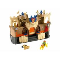 Brinquedo Imaginext Medieval Castelo Do Leão Bfr70