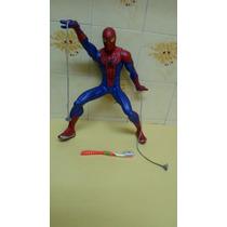 Boneco Homem Aranha Lança Teia - Usado - Hasbro - R$ 99,00
