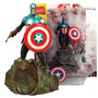 Colecionavel Captain America Marvel Select - Bonellihq