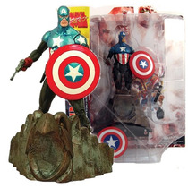 Colecionavel Captain America Marvel Select - Bonellihq