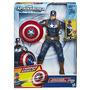 Boneco Capitão América Articulado Original Marvel - Hasbro