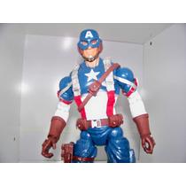 Marvel Legends Icons Capitão América 30cm Versãofilme2011