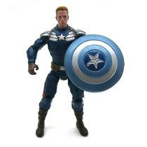 Marvel Universe Capitão América 2 Steve Rogers Sem Máscara