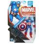 Boneco Capitão America Marvel Universe - Hasbro.
