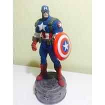 Capitão América Em Resina - Avengers - Marvel
