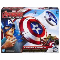 Escudo Lançador De Discos - Capitão América - Hasbro