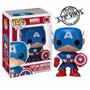 Capitão América Funko Pop Marvel Bobble-head Fu-2224