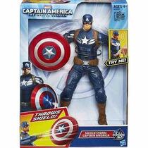 Boneco Marvel Capitão América - Os Vingadores - Hasbro