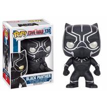 Capitão America Guerra Civil: Black Panther Pop - Funko