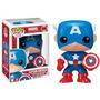 Funko Pop Capitão América Marvel Universe