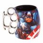Caneca Soco Inglês Marvel Capitão América Vingadores Thor