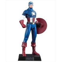 Miniatura Capitão América Marvel Figurines Eaglemoss