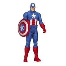 Boneco Articulado Capitão América Hasbro 12 Frete Grátis