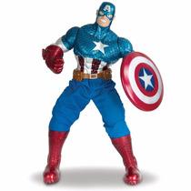Boneco Capitão América Avengers Premium Gigante -mimo 467