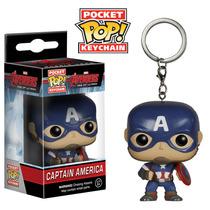 Funko Pocket Pop! Chaveiro - Vingadores - Capitão América