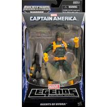 Figure Marvel Leg Vingadores, Cap. América - Agents Of Hydra
