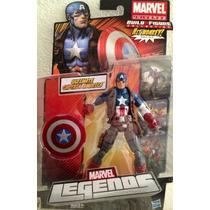 Capitão América, Marvel Legends, Vingadores, Hasbro, Novo