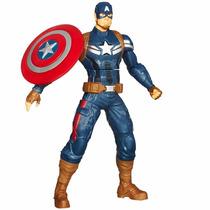 Boneco Capitão América Marvel Eletônico - Hasbro - A6300