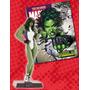 Coleção De Miniaturas Marvel 38: Mulher Hulk - Bonellihq