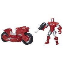 Marvel Super Hero Mashers Iron Man E Veiculo A8015 Hasbro