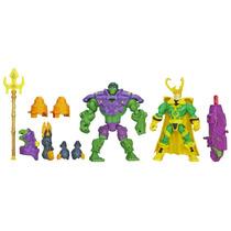 Marvel Super Hero Mashers Hulk Vs Loki A8897 Hasbro