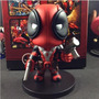 Boneco Deadpool Marvel X-men Bubble Head Q-version 14cm