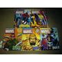 Lote Com 05 Fascículos Marvel - Não Acompanha As Miniaturas