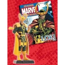 Miniatura Marvel Loki - Eaglemoss + Revista