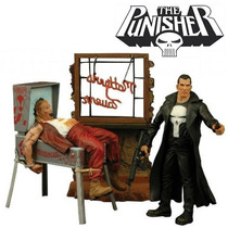 The Punisher O Justiceiro Marvel Studios Select Dc Boneco
